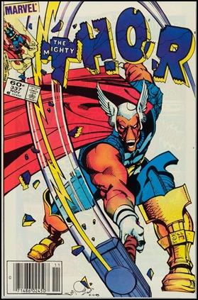 The Mighty Thor 337, primer número de Walt Simonson