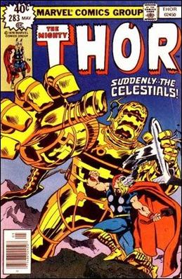 Thor cruza su camino con el de los Celestiales