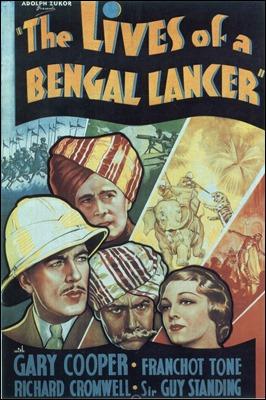 Tres lanceros bengalíes, cartel USA