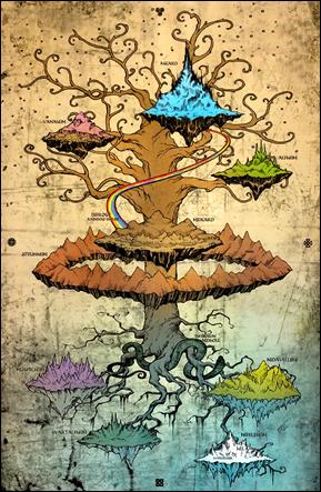 Yggdrasil, el Árbol del Mundo
