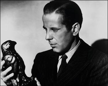 Bogart y el famoso pajarraco que todos buscan