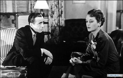 Bogart y Mary Astor, los protagonistas de El halcón maltés