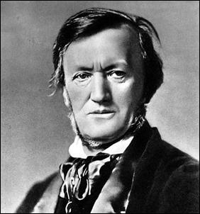 El compositor alemán Richard Wagner