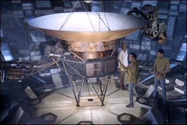 El entrañable V'Ger, o sea, el Voyager VI