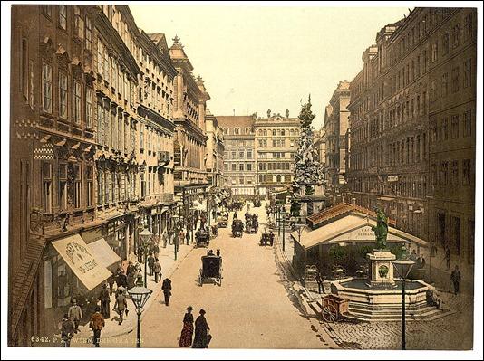 El Graben, la calle más señorial de Viena