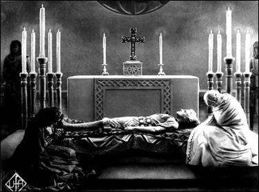 Las dos mujeres y su amado Sigfrido