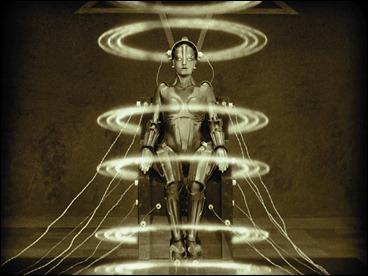 María, el robot femenino de Metrópolis