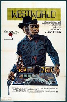 Poster de Almas de metal, con el bueno-malo de Yul Brynner