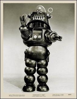 Robbie, el robot de Planeta prohibido