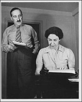 Stefan Zweig y su esposa Lotte
