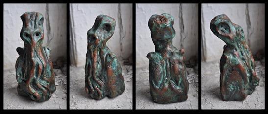 Una muestra de la obra escultórica de Clark Ashton Smith