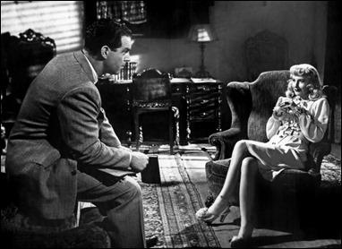 Walter Neff cae en las redes de Phyllis en Perdición