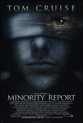 Cartel americano de Minority Report
