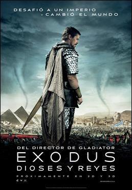 Cartel español de Exodus. Dioses y reyes