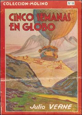 Cinco semanas en globo, edición de Molino