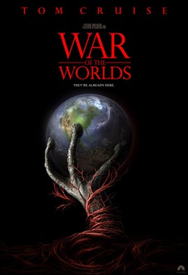 Excelente cartel de La guerra de los mundos