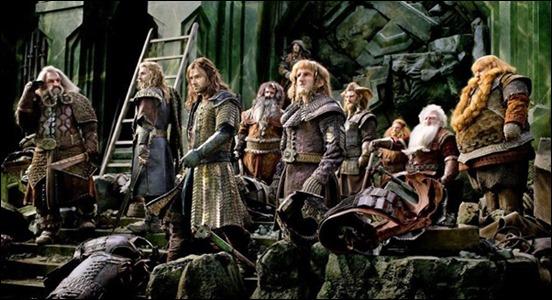 Los enanos de Thorin prestos a defender la Montaña Solitaria