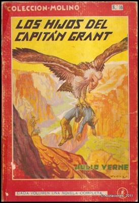 Los hijos del capitán Grant, edición de Molino
