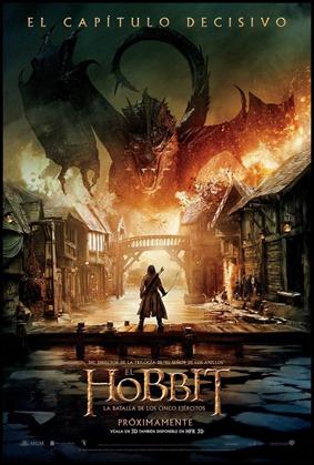 Poster de El hobbit. La batalla de los Cinco Ejércitos