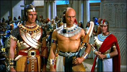 Ramsés y Moisés, hermanos y rivales