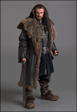 Thorin Escudo Roble, papel de Richard Armitage