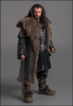 Thorin Escudo Roble, papel de Richard Armitage
