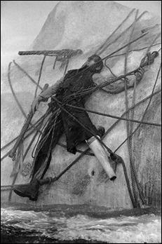 Ahab unido para siempre a Moby Dick