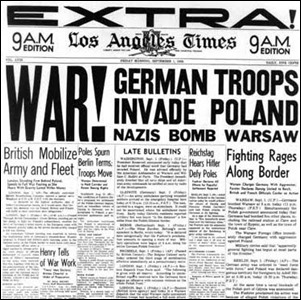 Alemania invado Polonia