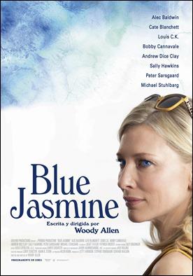 Cartel de Blue Jasmine, de Woody Allen