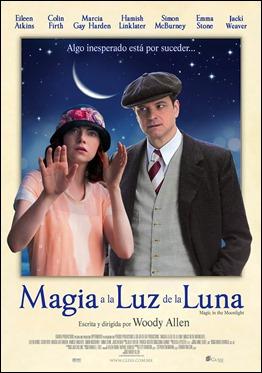 Cartel español de Magia a la luz de la luna