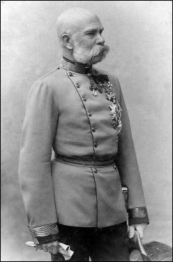 El viejo emperador Francisco José de Austria