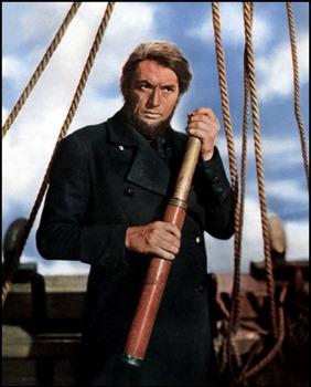 Gregory Peck, un inolvidable capitán Ahab