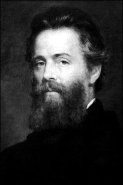 Herman Melville, el autor de Moby Dick