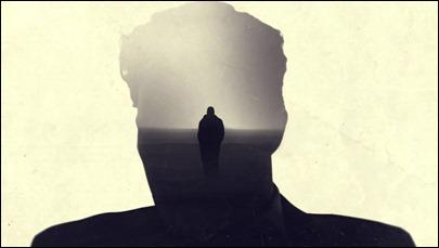 Imagen de los estupendos títulos de crédito de la serie True Detective