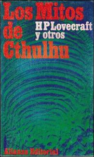 Los mitos de Cthulhu, edición de Rafael Llopis en Alianza