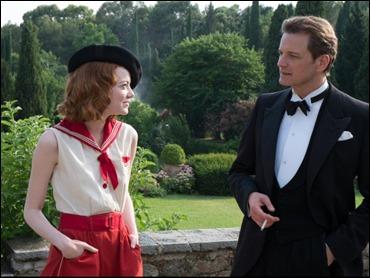 Magníficos Emma Stone y Colin Firth