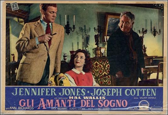 Cartel italiano de Cartas a mi amada con su bonito rebautizo, Los amantes del sueño