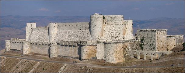 El Krak de los Caballeros, el más famoso castillo de los cruzados