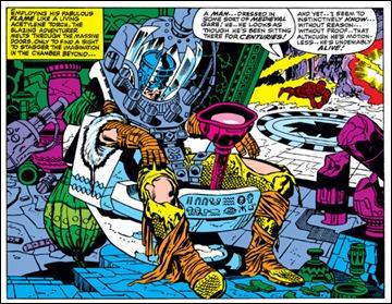 Hasta Marvel tuvo su Preste Juan, en Los 4 Fantásticos