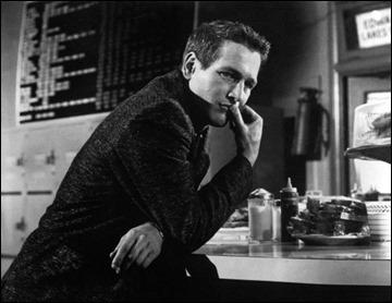 Paul Newman, como Eddie Relámpago o Fast Eddie