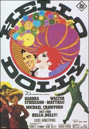 Cartel americano de Hello, Dolly