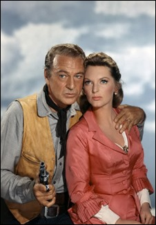 Gary Cooper y Julie London en Man of the West