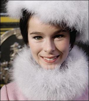 Geraldine Chaplin, adorable como Tonia Zhivago