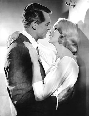 La escena del beso entre Cary Grant y Eva Marie Saint