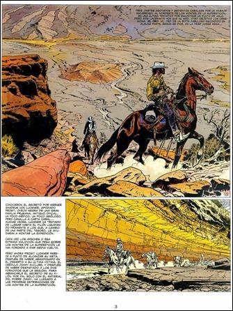 La estupenda página inicial de El fantasma de las balas de oro