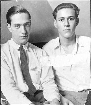 Los verdaderos asesinos Leopold y Loeb