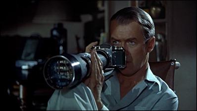Nada se le puede escapar a James Stewart con esta cámara