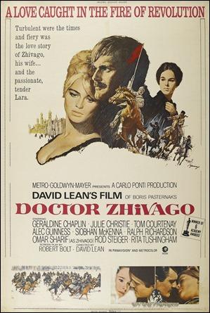 Poster americano de Doctor Zhivago