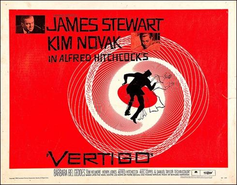 Poster americano de Vertigo