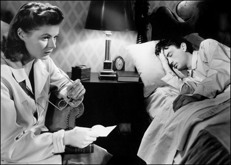Recuerda, con Ingrid Bergman y Gregory Peck